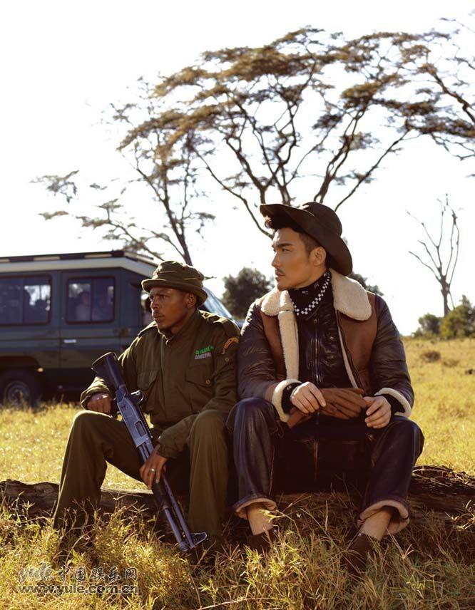 胡兵-肯尼亚大片2