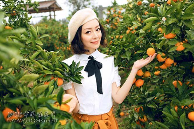 许榕真活力橘色