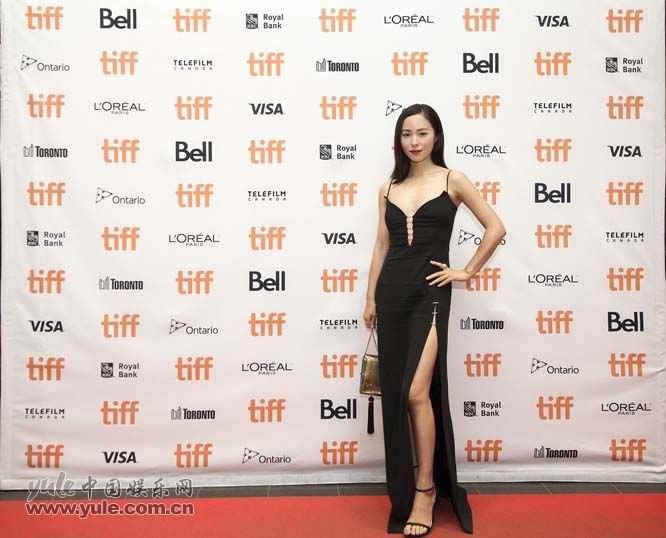 江一燕出席电影《七十七天》北美首映礼