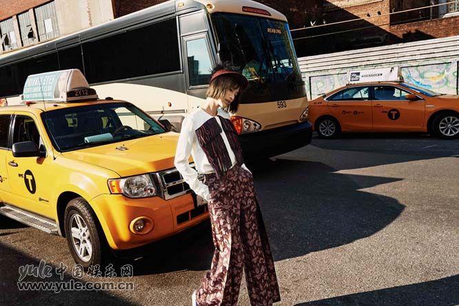 张俪纽约街拍