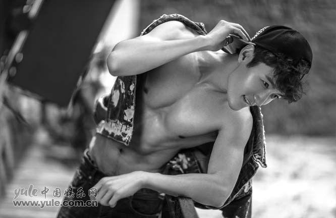 张鑫型男系列写真