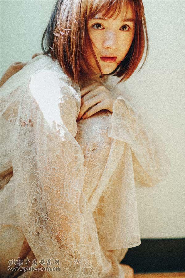 白纱裙仙气十足