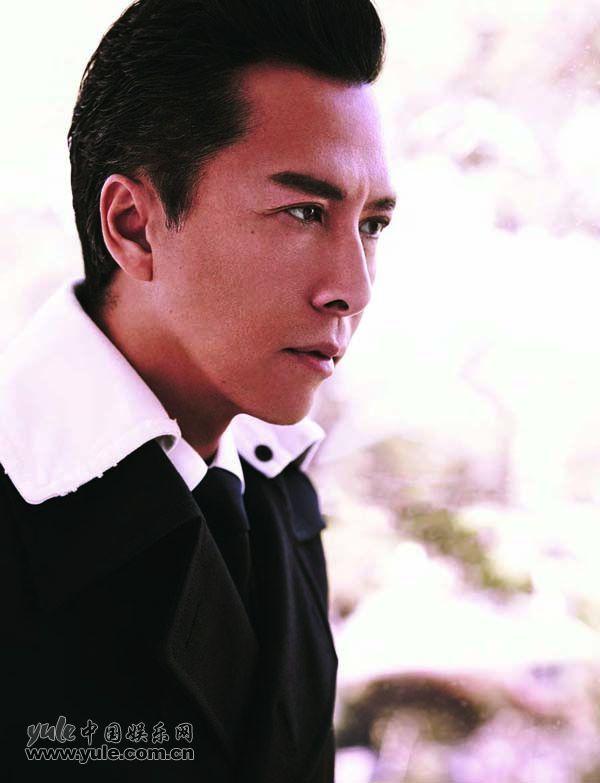 甄子丹时尚冬装登封面