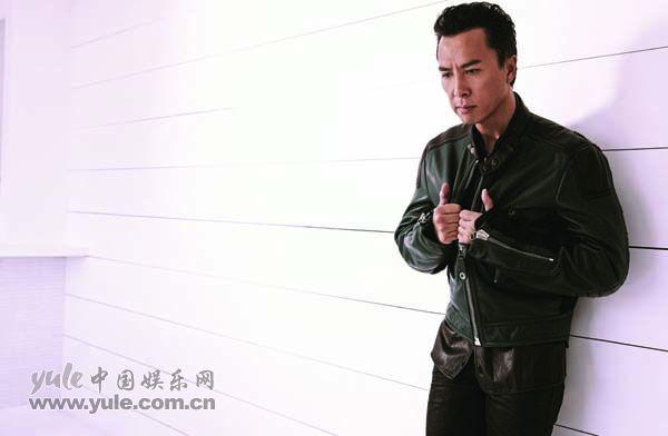 甄子丹时尚写真倍