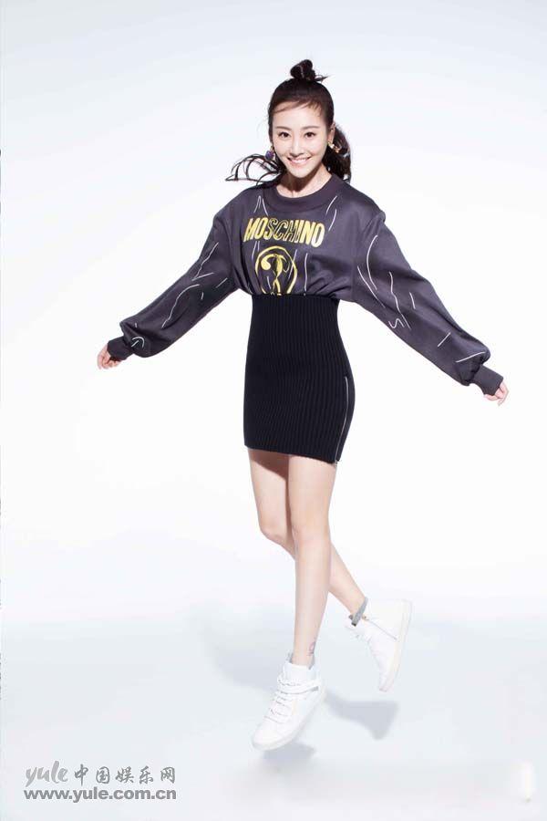 李纯时尚运动写真