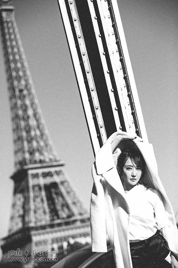 姜尘在巴黎铁塔下