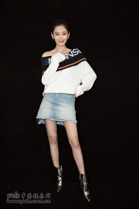 王媛可大长腿